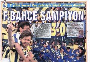 Fenerbahçe'nin Yirmi İkinci Türkiye Şampiyonluğu