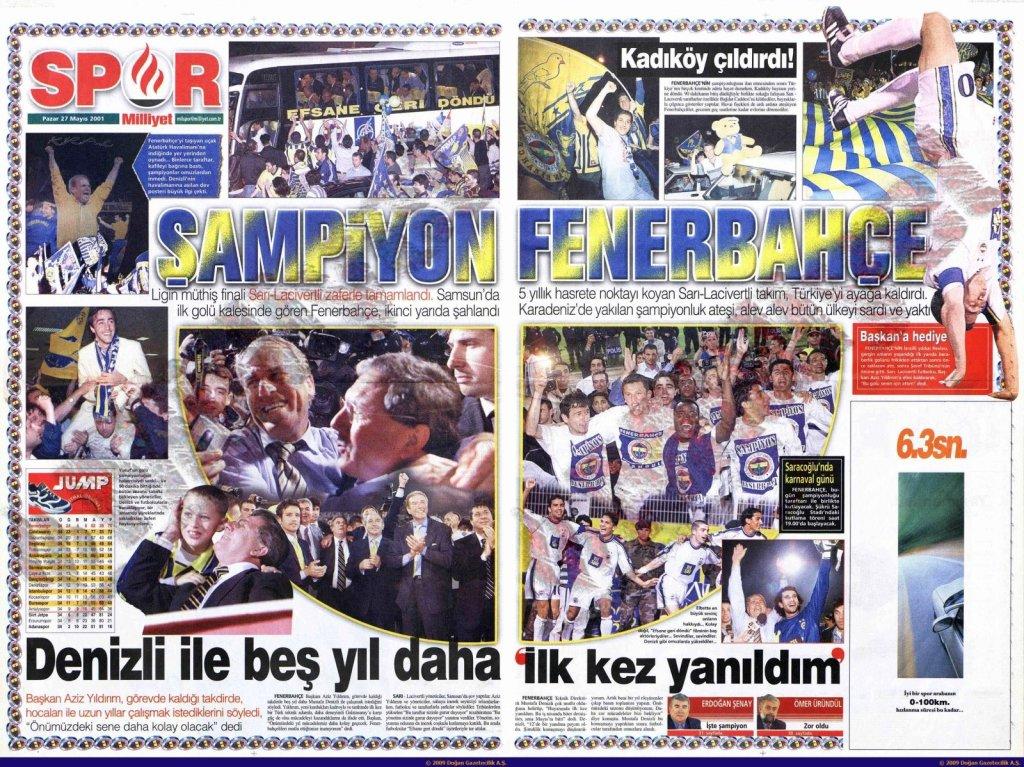 Fenerbahçe'nin Yirmi Üçüncü Türkiye Şampiyonluğu