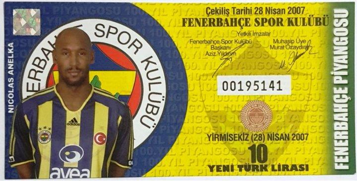 Fenerbahçe Eşya Piyangoları