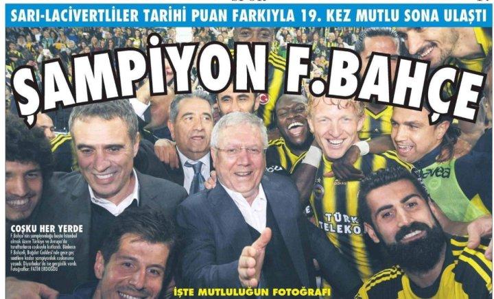 Fenerbahçe'nin Yirmi Sekizinci Türkiye Şampiyonluğu